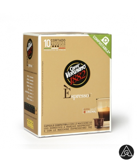 Nespresso kapsule Vergano Espresso1882 Makijato AnanGroup