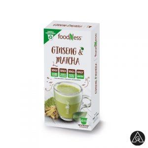 FoodNess Ginseng & matcha Nespreso kompatibilne kapsule iz ponude anan groupa