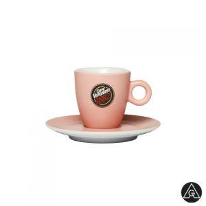 Šoljice za espresso kafu Vergnano roze AnanGroup
