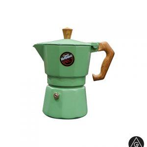 Moka pot aparat za espresso kafu Vergnano Zeleni AnanGroup