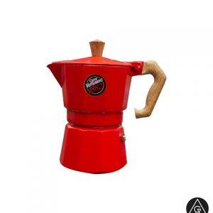 Moka pot aparat za espresso kafu Vergnano Crveni AnanGroup